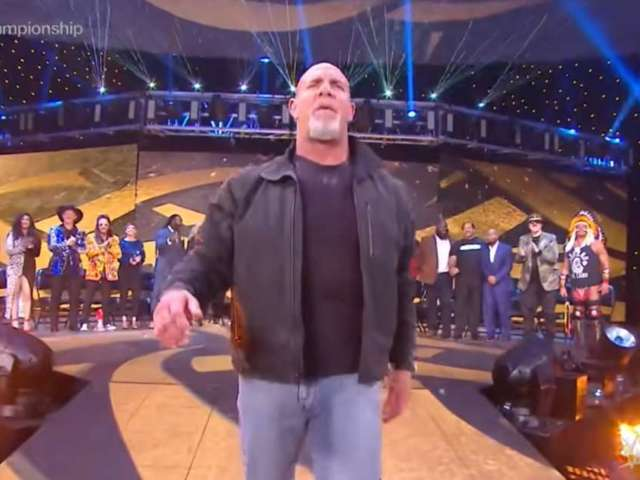 Goldberg Returns to WWE, Challenges Drew McIntyre for Championship