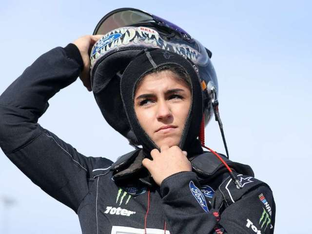 Hailie Deegan Hurls R-Word Insult at Driver, and NASCAR Fan Are Sounding Off