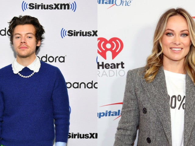 Harry Styles and Olivia Wilde Spark Romance Rumors Holding Hands at a Wedding