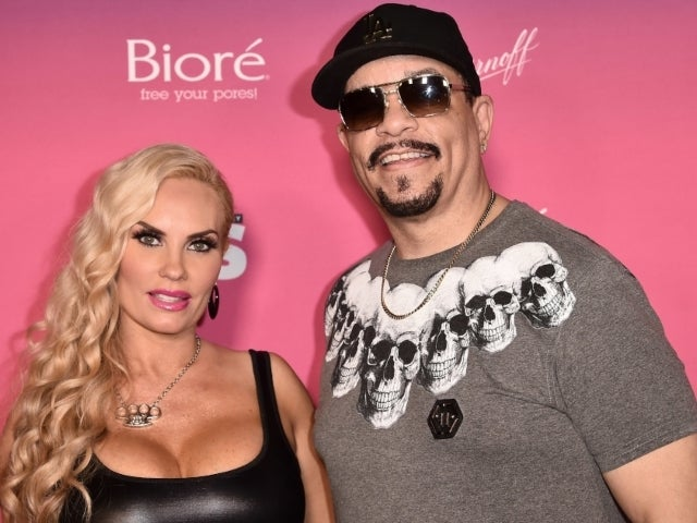 Ice-T's Wife Coco Austin Rocks Sheer Top for Anniversary Dinner: 'He Picked This One Out'