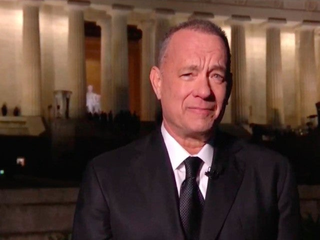 Tom Hanks' Inauguration Day Special Draws Comparisons to 'Forrest Gump' Reflecting Pool Scene