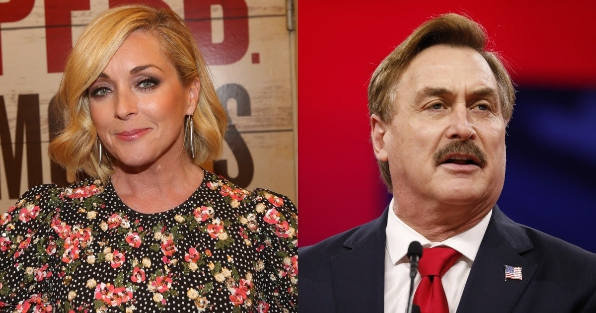 jane krakowski mike lindell getty images