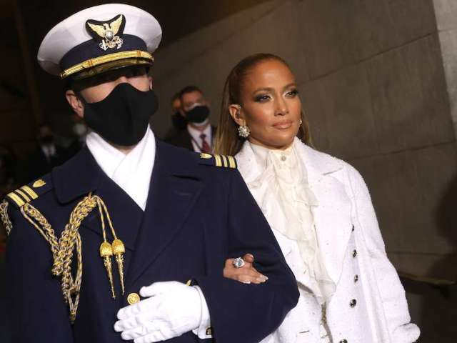 Inauguration 2021: Jennifer Lopez Poses With US National Guard at Capitol in Photo Ahead of Performance