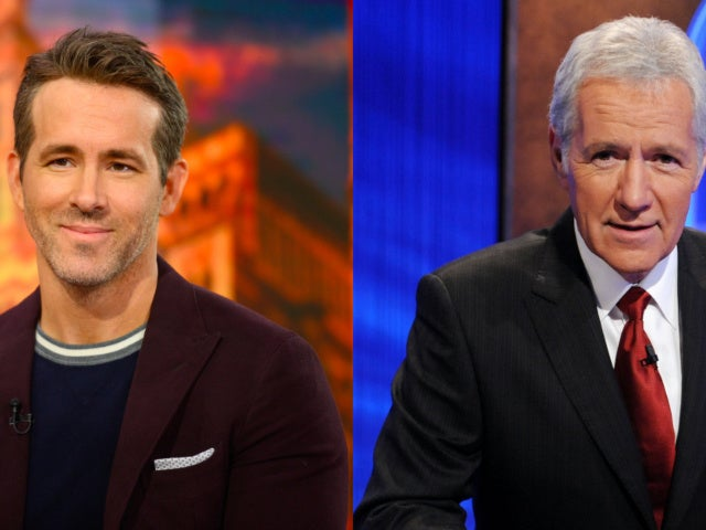 Ryan Reynolds Says Helping Deliver 'Jeopardy!' Clue During Alex Trebek's Final Episodes Was 'Heartbreaking'