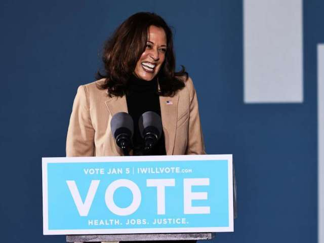 Kamala Harris and Her Socks Capture Social Media's Attention With More Than 10M Views in Viral Video