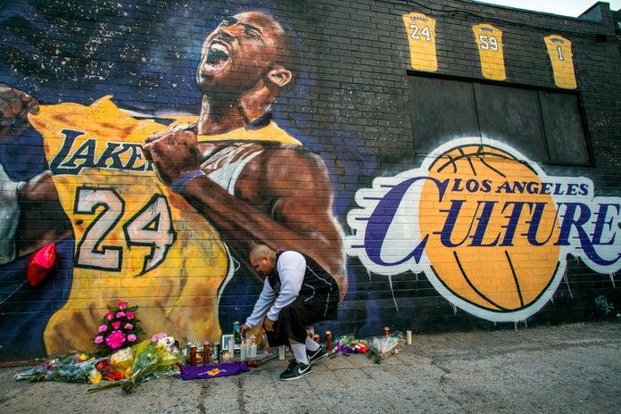 Kobe Bryant Mural Los Angeles