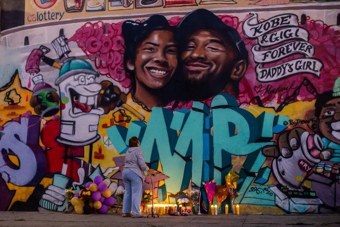 Kobe Bryant mural Muck Rock