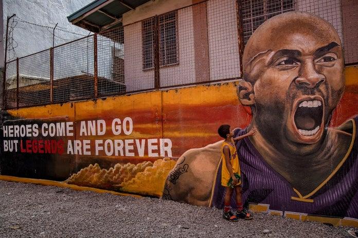 Kobe Bryant mural Philippines