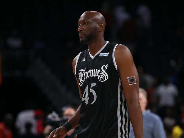 Former NBA Star Lamar Odom Inks Celebrity Boxing Deal