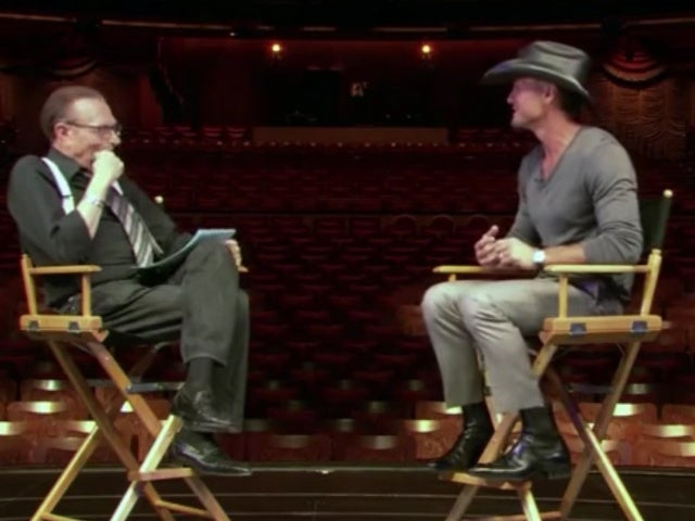 Tim McGraw Remembers Larry King: 'He Was One of a Kind'