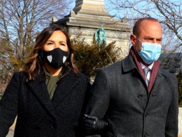 'Law & Order: SVU': See Benson and Stabler Reunite in New Set Photos of Mariska Hargitay, Christopher Meloni