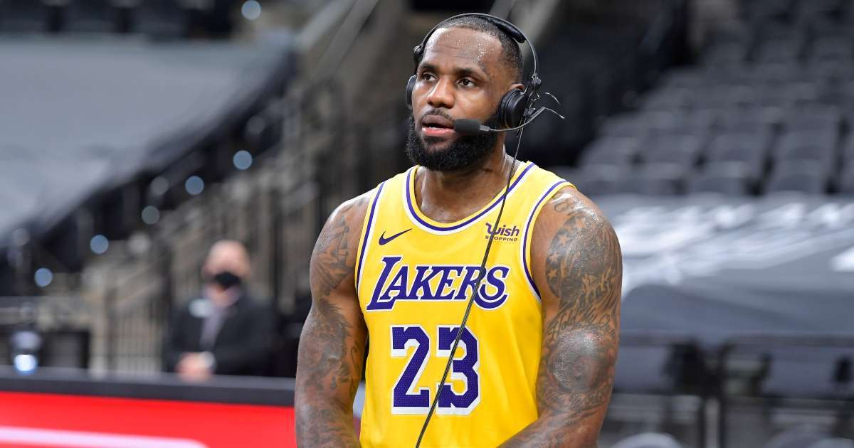 LeBron James reacts Jacob Blake ruling blow heart