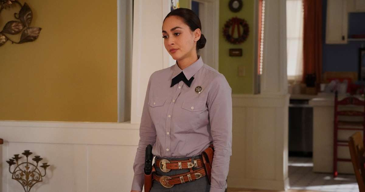 Lindsey Morgan teases expectations Walker not typical cop show