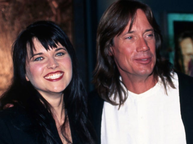 Lucy Lawless Channels 'Xena' Slamming Kevin Sorbo on Twitter Over Capitol Riot Posts