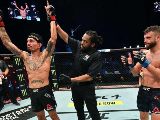 UFC Fight Island 7: Social Media Responds After Incredible Match Between Max Holloway and Calvin Kattar