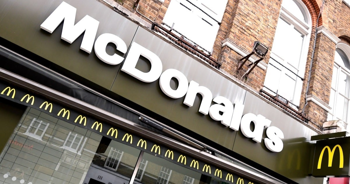 mcdonalds store front getty images