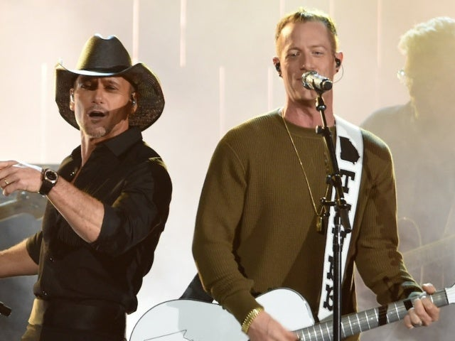 Tim McGraw and Tyler Hubbard Performing During Inauguration Day 'Celebrating America' Special