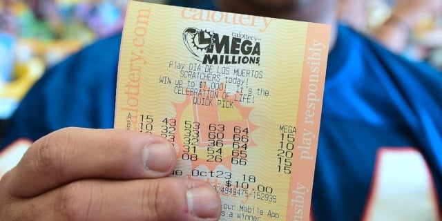 mega millions ticket getty images