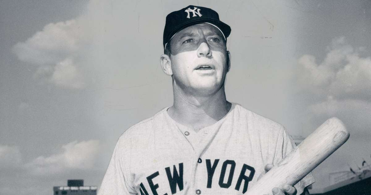 Mickey Mantle baseball card sells record breaking 5 million