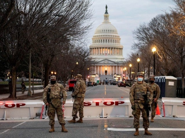 FBI Reportedly Vetting All 25,000 National Guard Troops Being Deployed for Inauguration