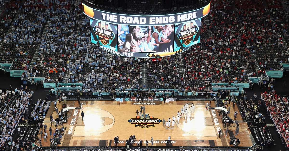 NCAA men's basketball tournament held entirely Indiana