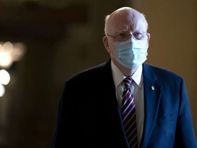 Senator Patrick Leahy Condition's Updated After Hospitalization
