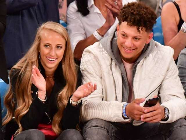 Patrick Mahomes' Fiancee Brittany Matthews' Baby Bump on Display During Mid-Pregnancy Workout
