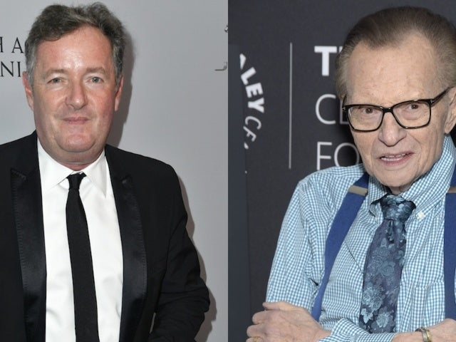 Piers Morgan Shades Larry King Just Minutes After His Death Became Public
