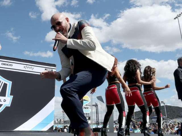 Pitbull Becomes Co-Owner of NASCAR Team