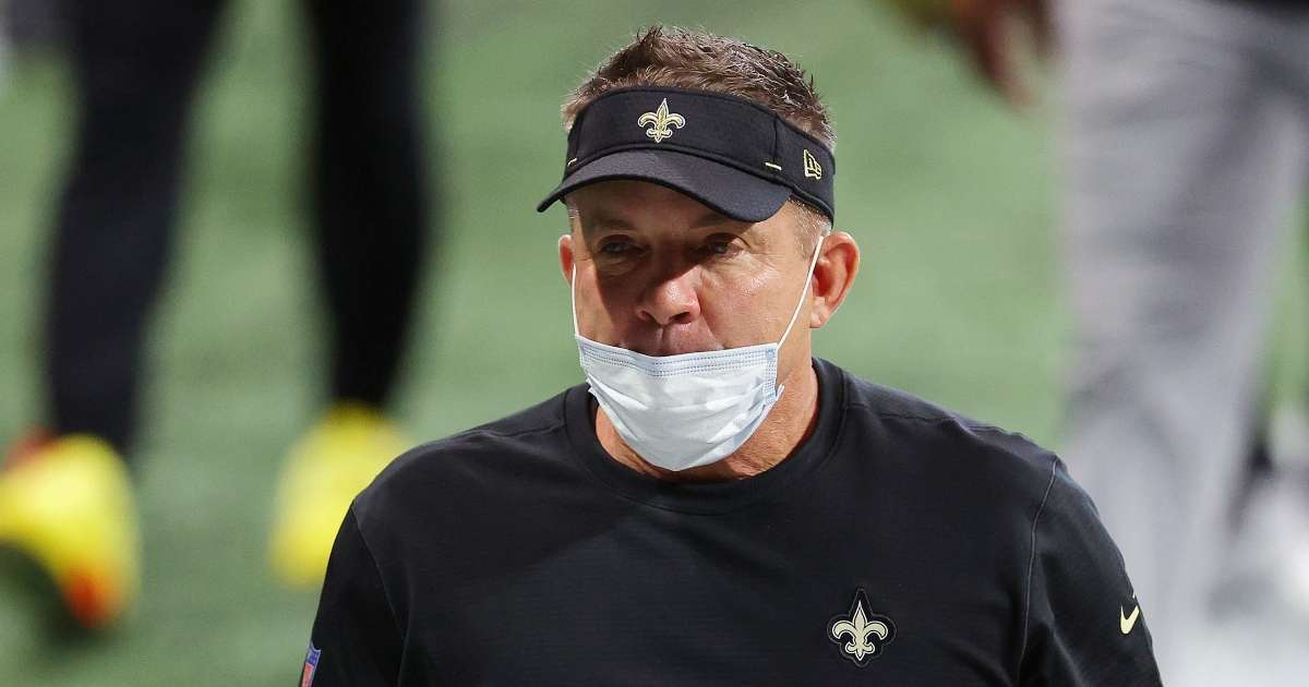 Saints coach Sean Payton slimed Nickelodeon playoff win