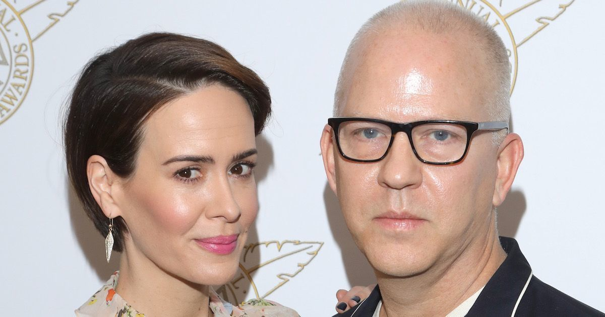 sarah-paulson-ryan-murphy-getty