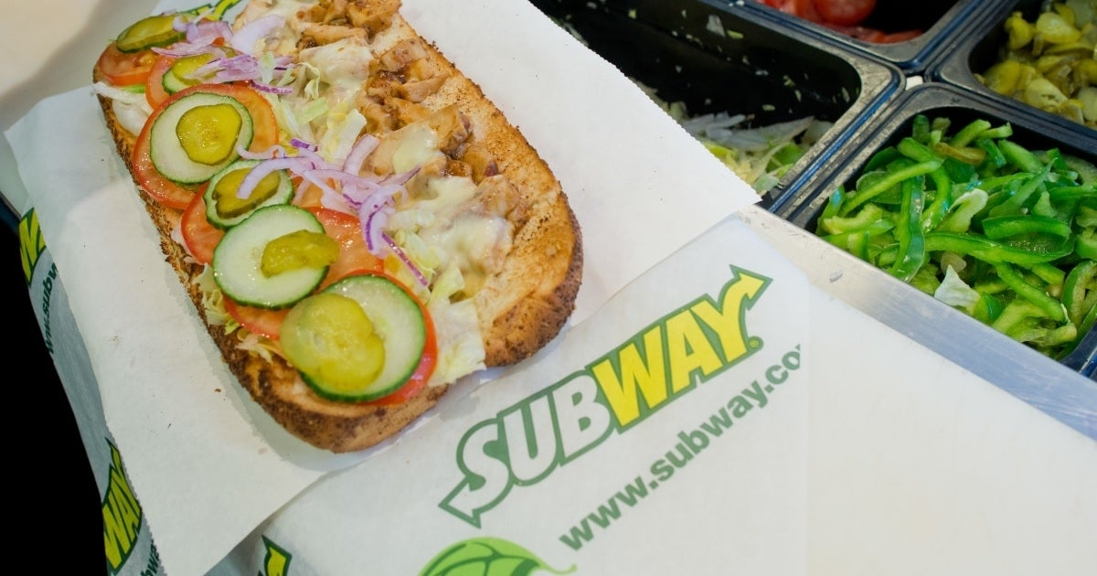 subway sandwich getty images