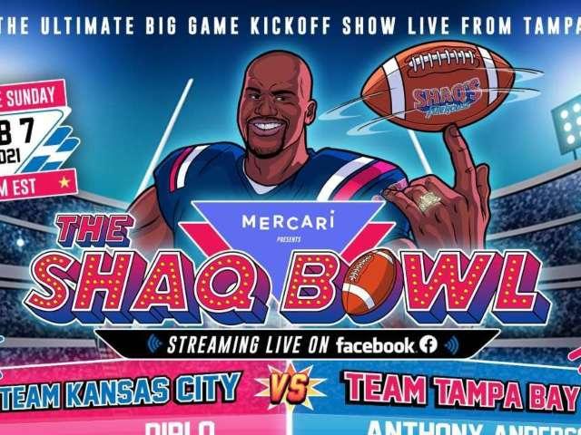 Super Bowl 2021: Shaquille O'Neal Announces 'Shaq Bowl' Pre-Game Show