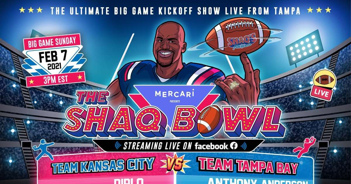 Super Bowl 2021 Shaquille O'Neal announces Shaq Bowl pre-game show