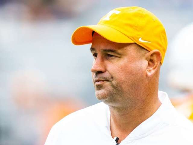 Tennessee Fires Football Coach Jeremy Pruitt Following Investigation Within Program