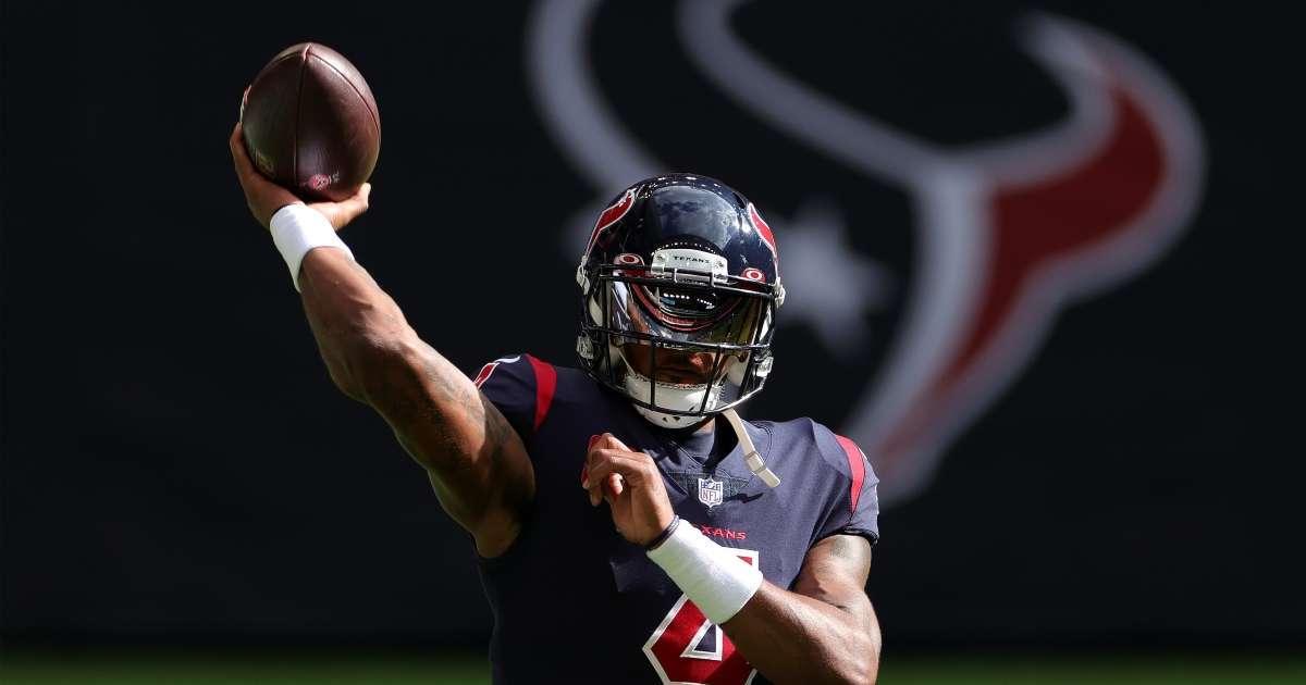 Texans GM Nick Caserio zero interest trading Deshaun Watson