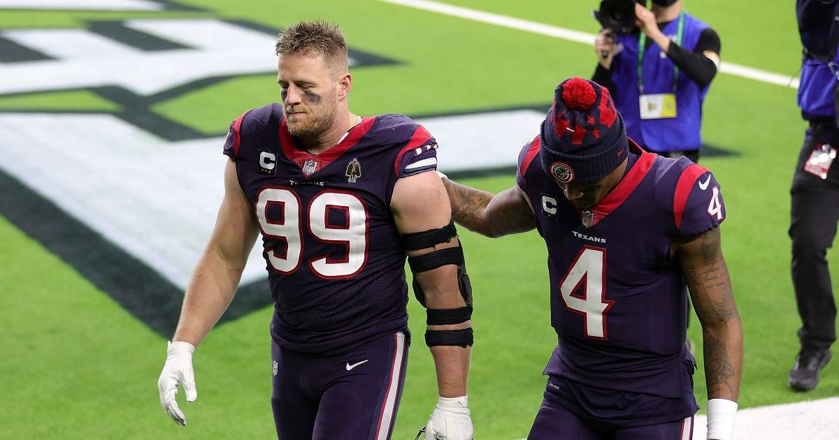Texas JJ Watt apologizes Deshaun Watson wasting 2020 season