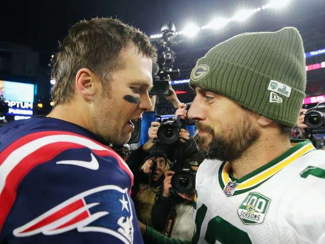 Tom Brady and Aaron Rodgers' First Postseason Face-off Set for Bucs vs. Packers Game