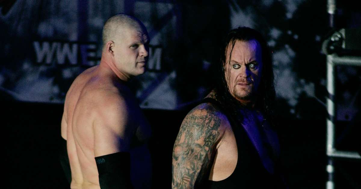 Undertaker Kane arent really brothers WWE fans just learned
