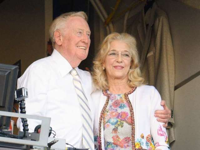 Vin Scully's Wife Sandra Dead at 76
