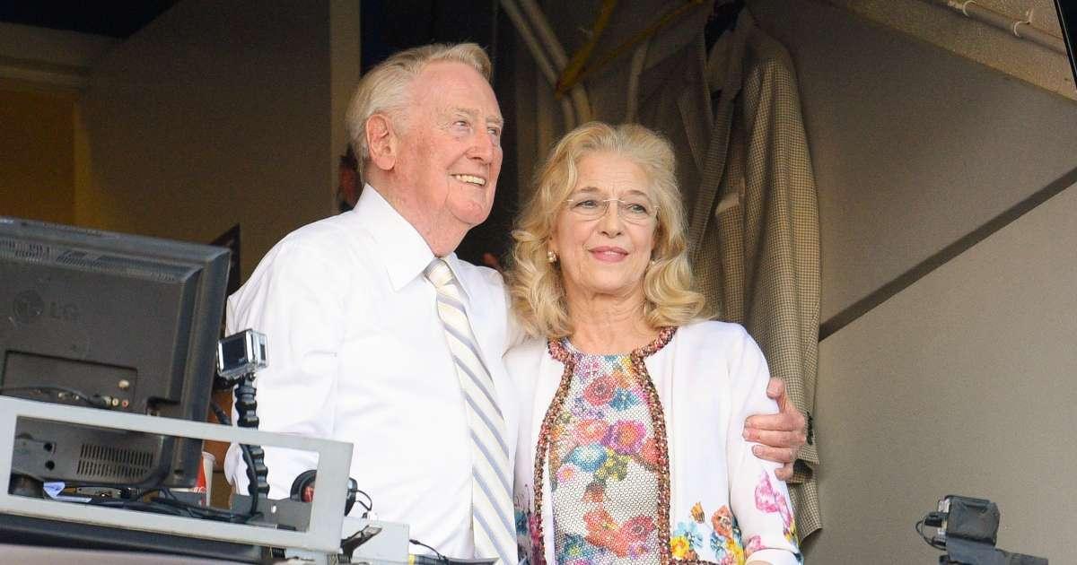 Vin Scully wife Sandy dead 76