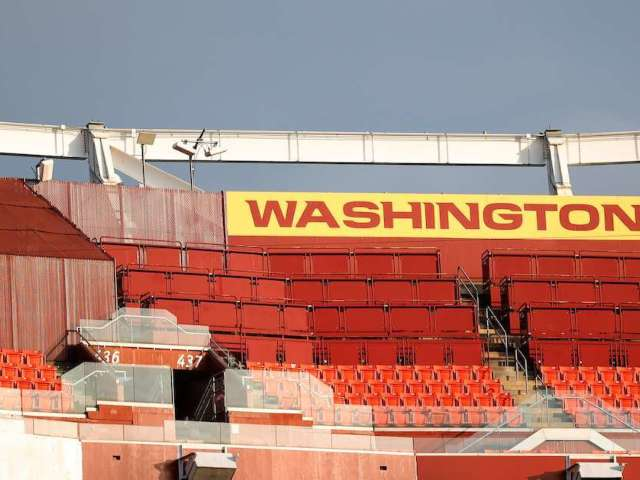 Washington Football Team Clarifies Fan Attendance Policy Ahead of Home Playoff Game