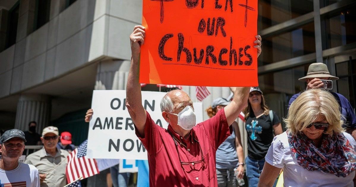 california-church-protest-coronavirus-getty