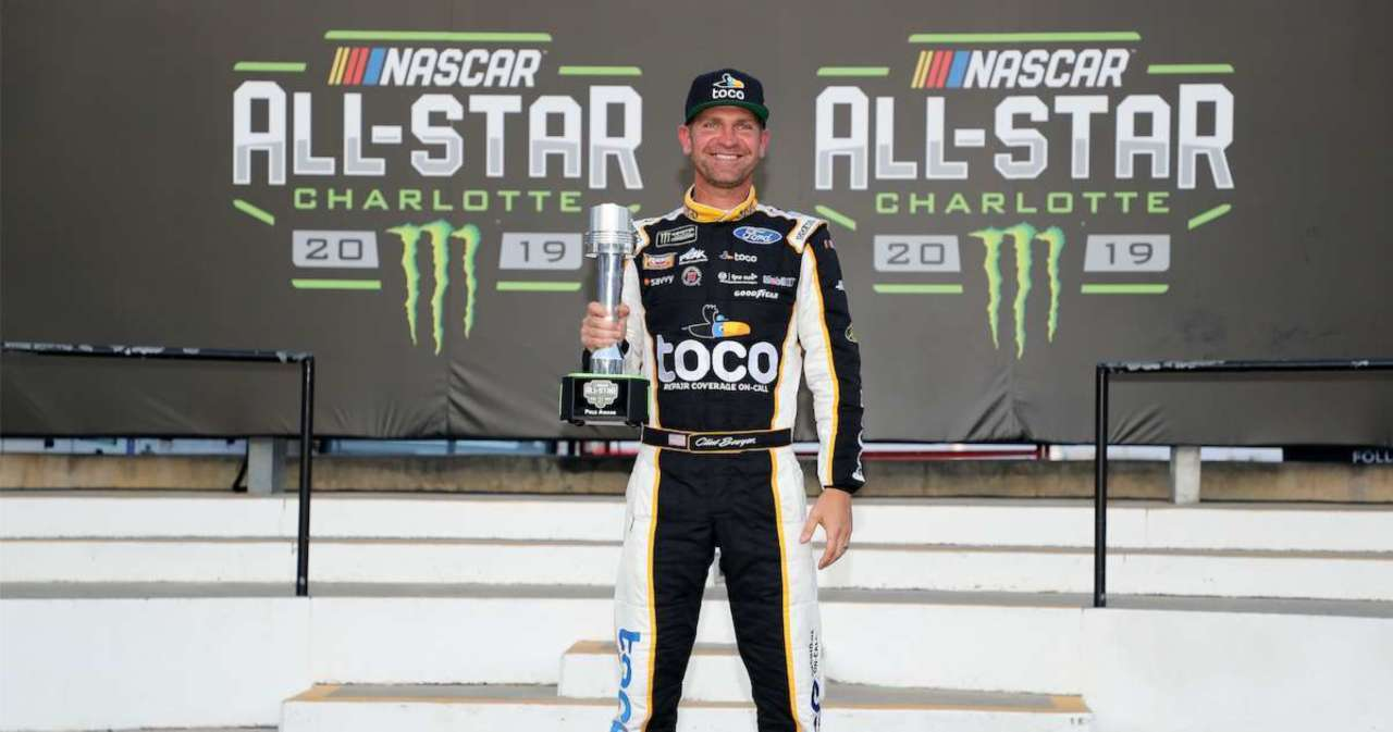 NASCAR on FOX Host Clint Bowyer Makes Good on Super Bowl Bet in Hilarious Fashion.jpg