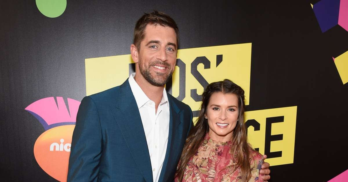 Danica Patrick Why did former NASCAR star Aaron Rodgers break up
