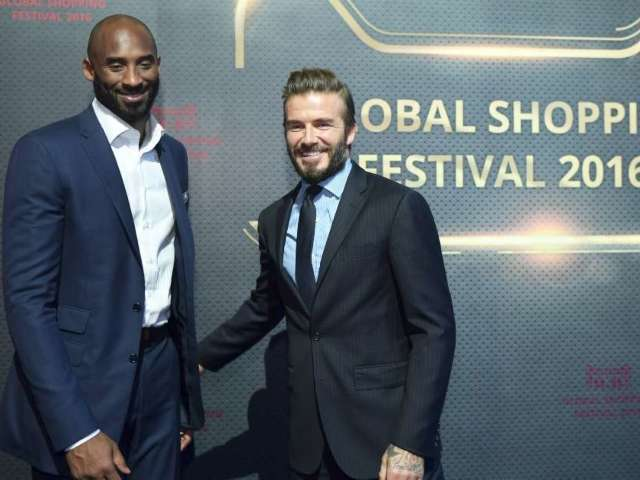 David Beckham Sends Sweet Valentine's Day Gift to Kobe and Vanessa Bryant's Kids