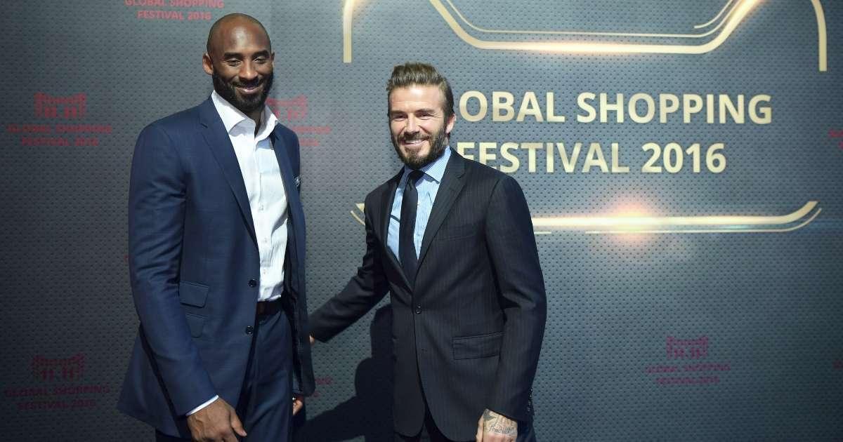 David Beckham sends Valentine's Day gift Kobe Vanessa Bryant kids