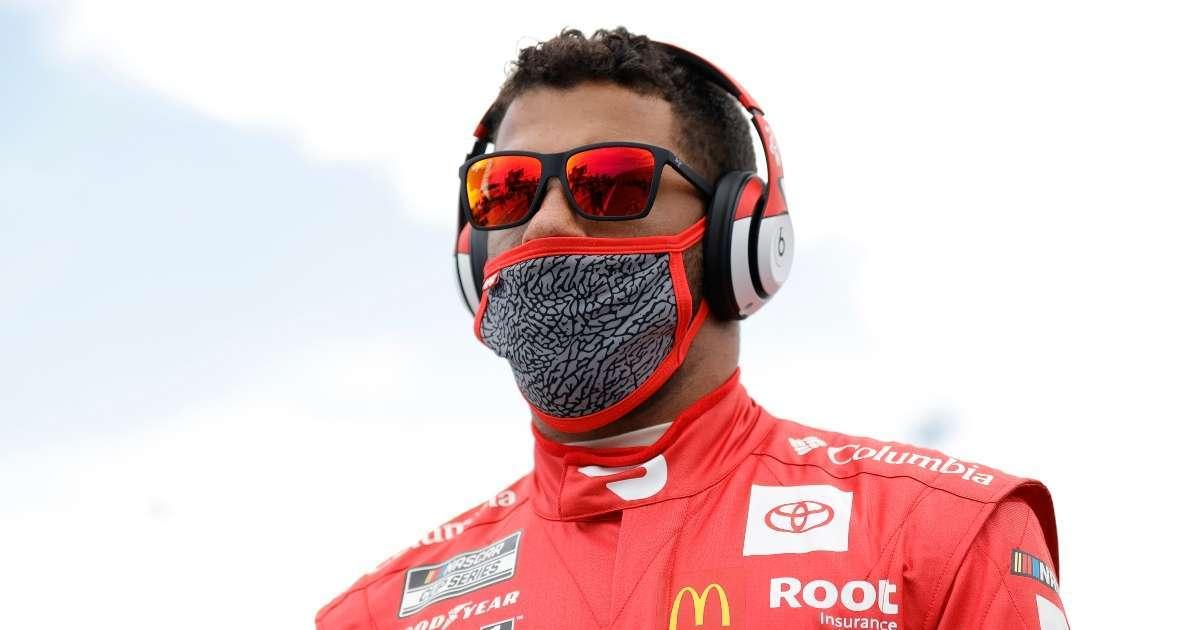 Daytona 500 Bubba Wallace first Back driver lead lap at race