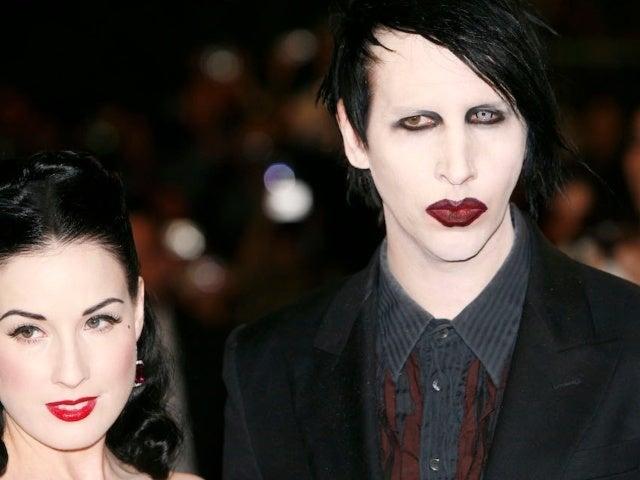 Dita Von Teese Stirs Social Media After Breaking Silence on Marilyn Manson, Evan Rachel Wood's Abuse Allegations