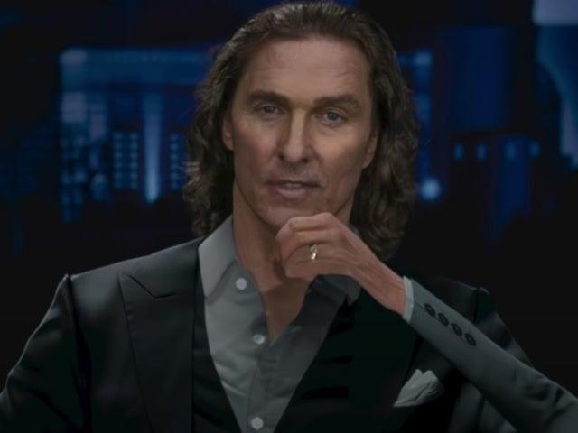 Matthew McConaughey Doritos Super Bowl Commercial Introduces 'Flat Matthew'